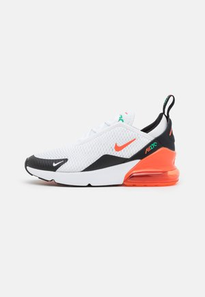 AIR MAX 270 UNISEX - Tenisky - white/turf orange/stadium green/black