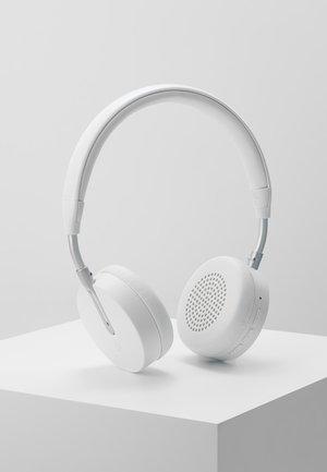 ON-EAR HEADPHONES  - Headphones - white