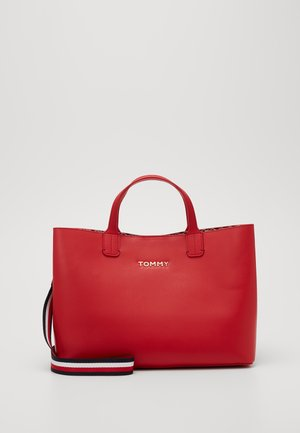 ICONIC SATCHEL - Borsa a mano - red