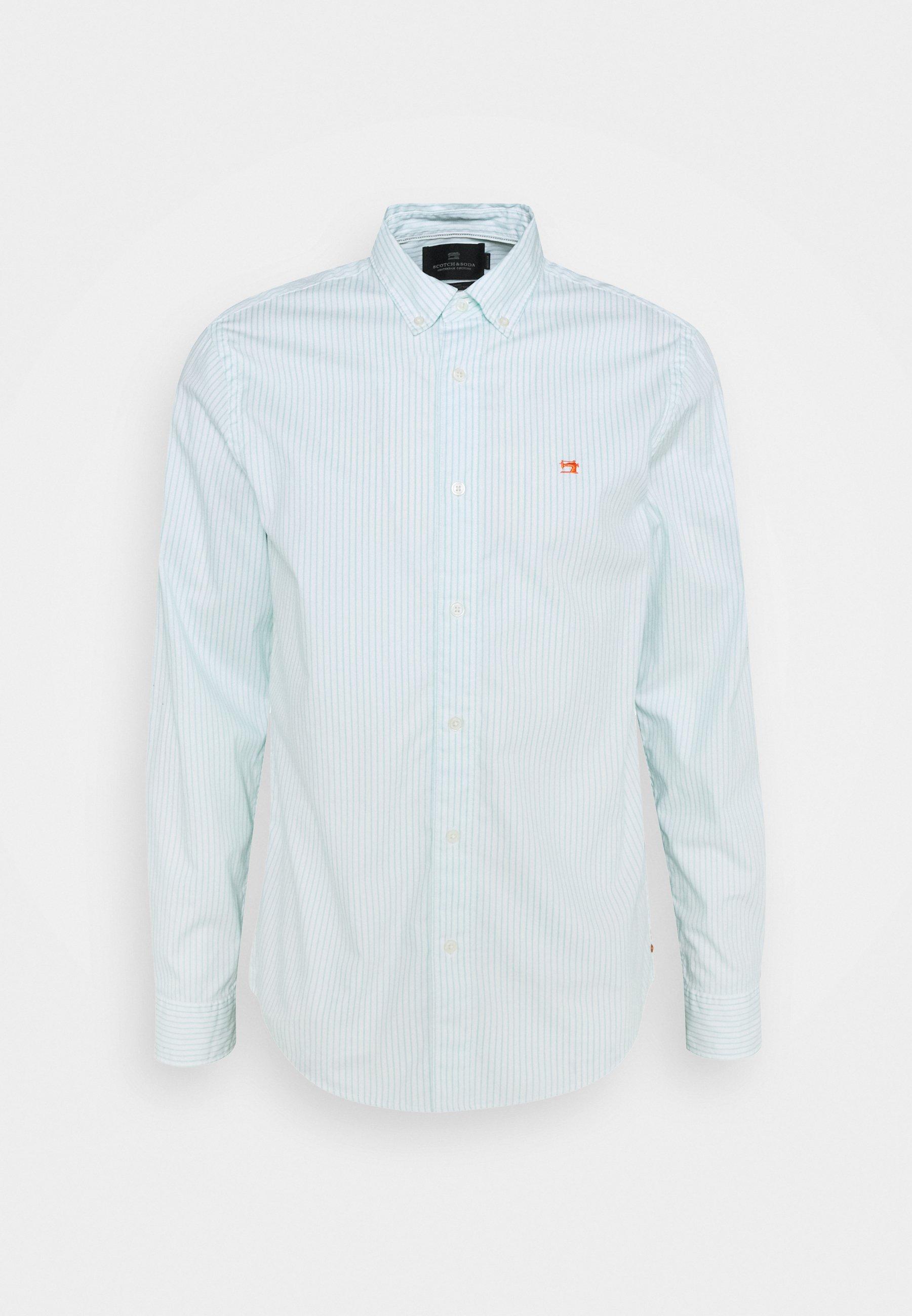 Men REGULAR FIT STRIPED OXFORD - Shirt