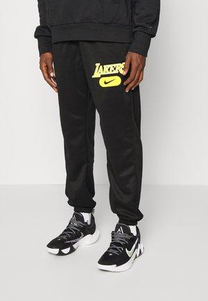 NBA LOS ANGELES LAKERS SPOTLIGHT SPOTLIGHT PANT - Squadra - black/field purple