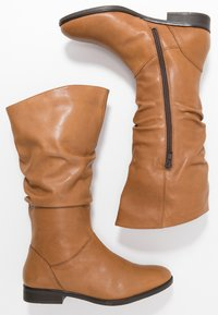 Pier One Wide Fit - Boots - cognac - 3