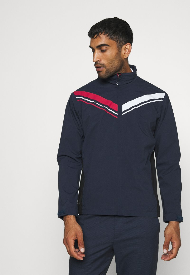 Cross Sportswear - CLOUD JACKET - Outdoorová bunda - navy