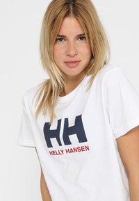 Helly Hansen - LOGO - Print T-shirt - white - 3