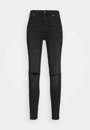 LEXY - Jeans Skinny Fit - black mist ripped