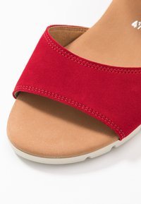 Gabor Comfort - Wedge sandals - rubin - 2