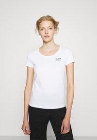 EA7 Emporio Armani - T-Shirt print - white/black - 0