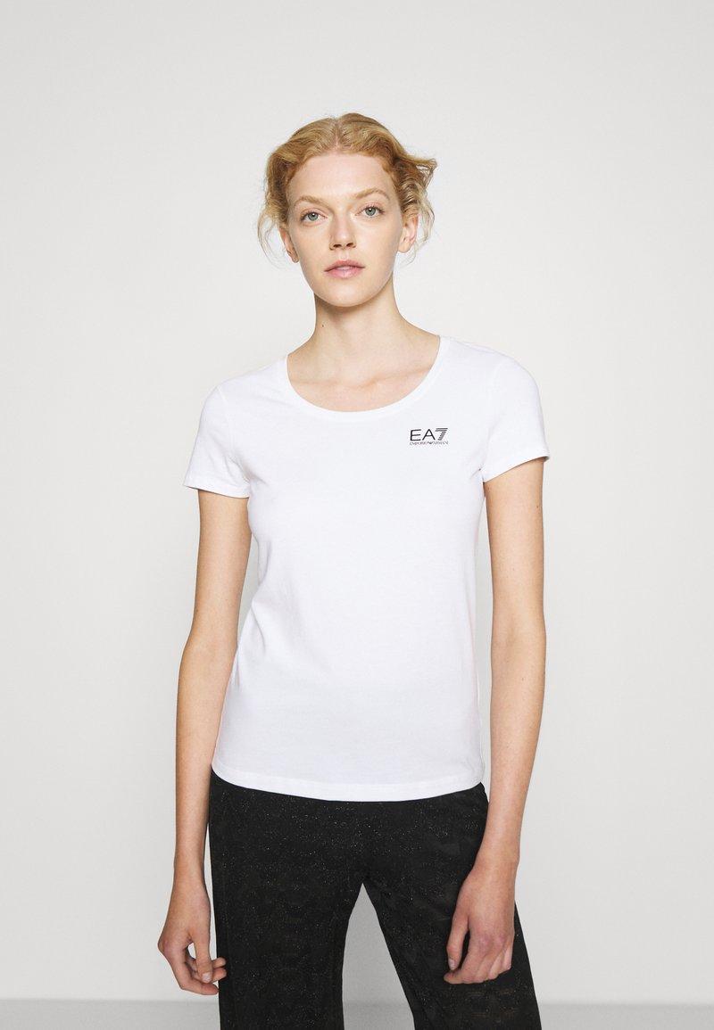 EA7 Emporio Armani - T-Shirt print - white/black