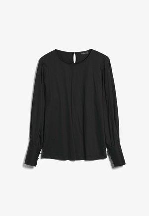 MELISE - Long sleeved top - schwarz