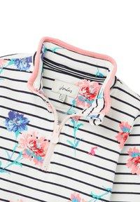Tom Joule - Sweatshirt - weiße streifen floral - 2