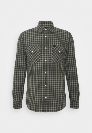 CLEAN WESTERN SHIRT - Overhemd - serpico green