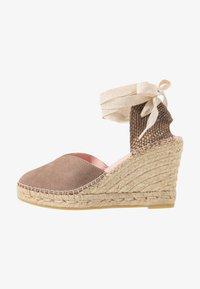Copenhagen Shoes - KEILA - Sandały na obcasie - beige - 1