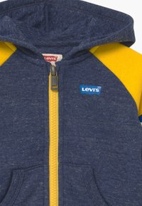 Levi's® - COLORBLOCK FULL-ZIP HOODIE - Sweatjakke /Træningstrøjer - dark blue/yellow - 2