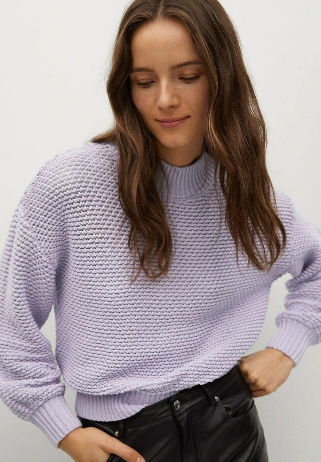 LEMONY - Strickpullover - light pastel purple