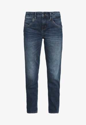 LIKE - Jeansy Relaxed Fit - dark-blue denim