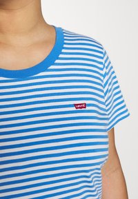 Levi's® Plus - PERFECT CREW - T-shirts med print - blue - 4