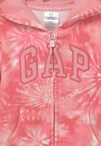 GAP - GIRL LOGO - Hoodie met rits - pink - 2