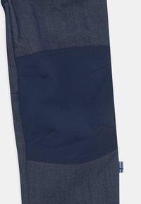 Finkid - KALLE HUSKY UNISEX - Outdoorové kalhoty - blue denim - 2