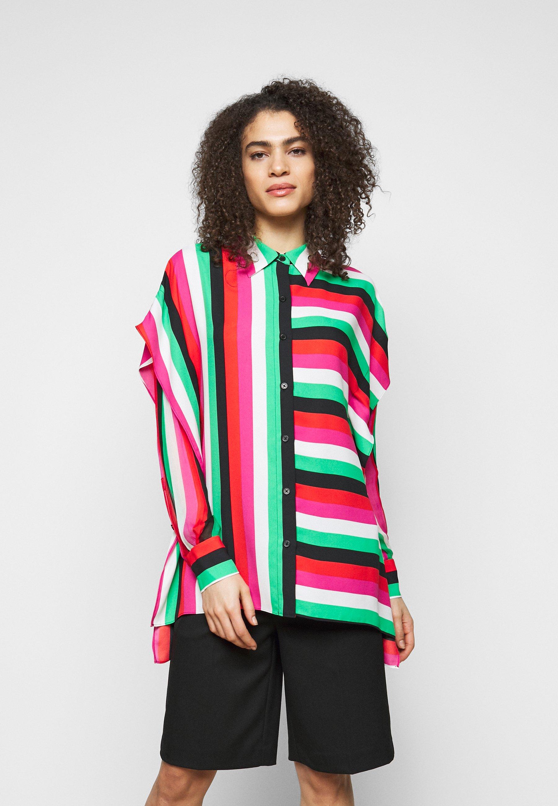Women LONG BUTTON-DOWN - Button-down blouse