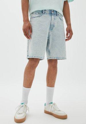 BERMUDA - Short en jean - blue