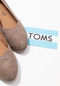 TOMS - JULIE - Ballet pumps - taupe - 7
