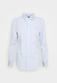 Polo Ralph Lauren - GEORGIA LONG SLEEVE - Button-down blouse - white/blue - 5