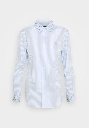 GEORGIA LONG SLEEVE - Košile - white/blue