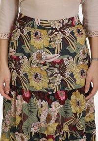 usha - ROCK - Maxi skirt - flower print - 3