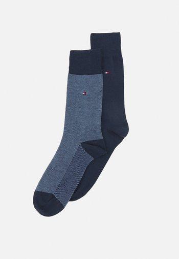MEN SOCK BIRDEYE 2 PACK - Socks - navy