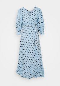 Diane von Furstenberg - ULRICA LONG - Maksimekko - light blue - 0