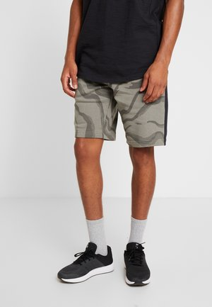 RIVAL SHORT PRINTED - Urheilushortsit - gravity green/black