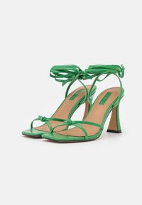 Topshop - RALLY MID ANKLE TIE - Sandalen - green - 2