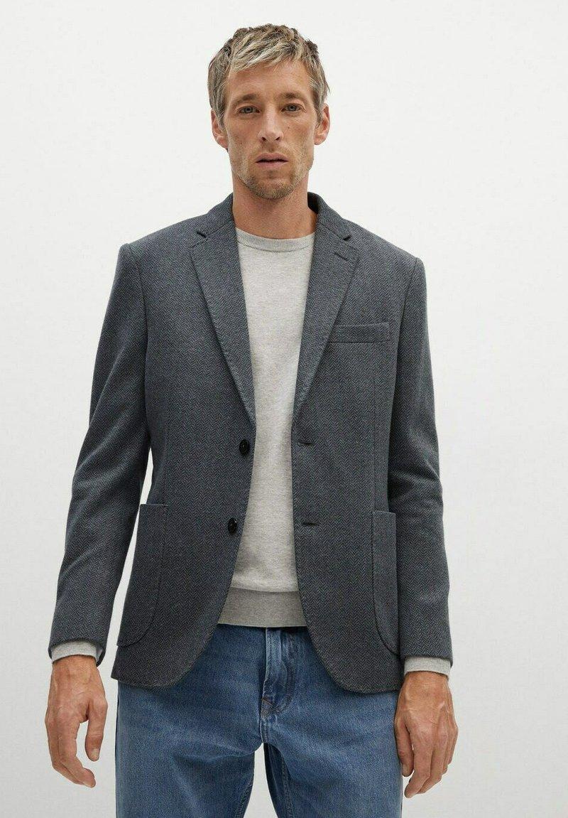 Mango - LONDON - Blazer jacket - gris