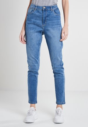 Slim fit jeans - mid stone wash