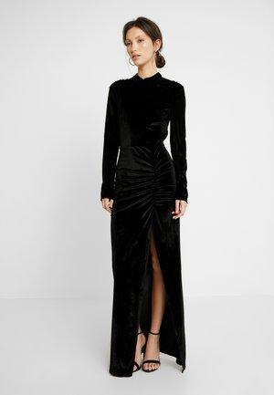 DRAPY GOW - Společenské šaty - black