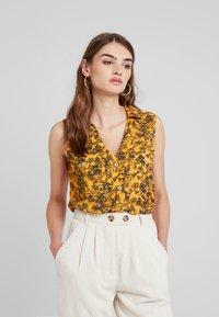 TWINTIP - Button-down blouse - yellow - 0