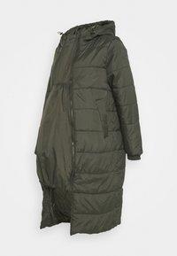 Modern Eternity - PENELOPE PUFFER MATERNITY - Winter coat - khaki - 2