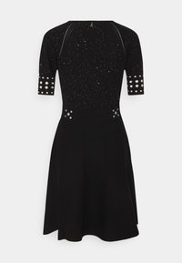 Patrizia Pepe - ABITO DRESS - Gebreide jurk - black - 1