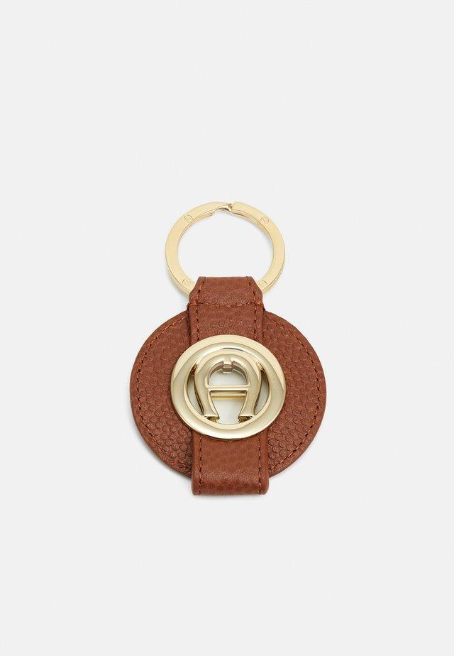 Schlüsselanhänger - cognac