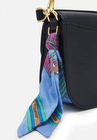 Lauren Ralph Lauren - SMOOTH SCARF LOGO - Handbag - dark blue - 4