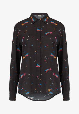 JOY WISHING ON A STAR - Button-down blouse - black