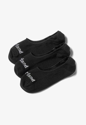 3 PACK - Trainer socks - black