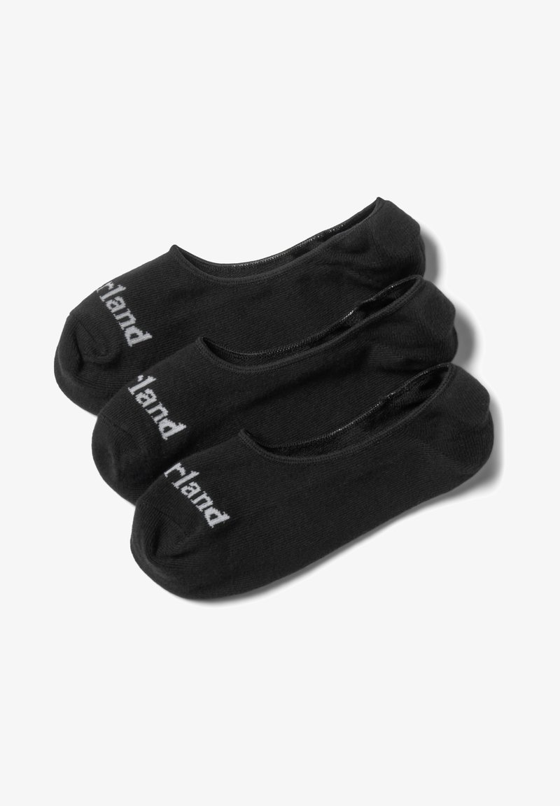 Timberland - 3 PACK - Trainer socks - black