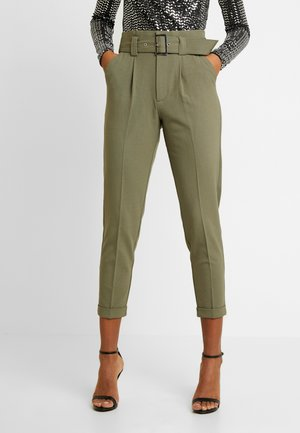 ONLROSIE BELT PANT - Trousers - kalamata