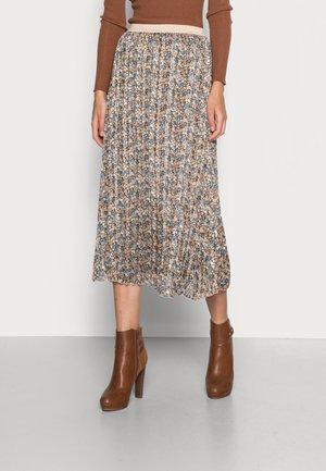 SKIRT BLURRED FLOWER - A-line skirt - multi coloured