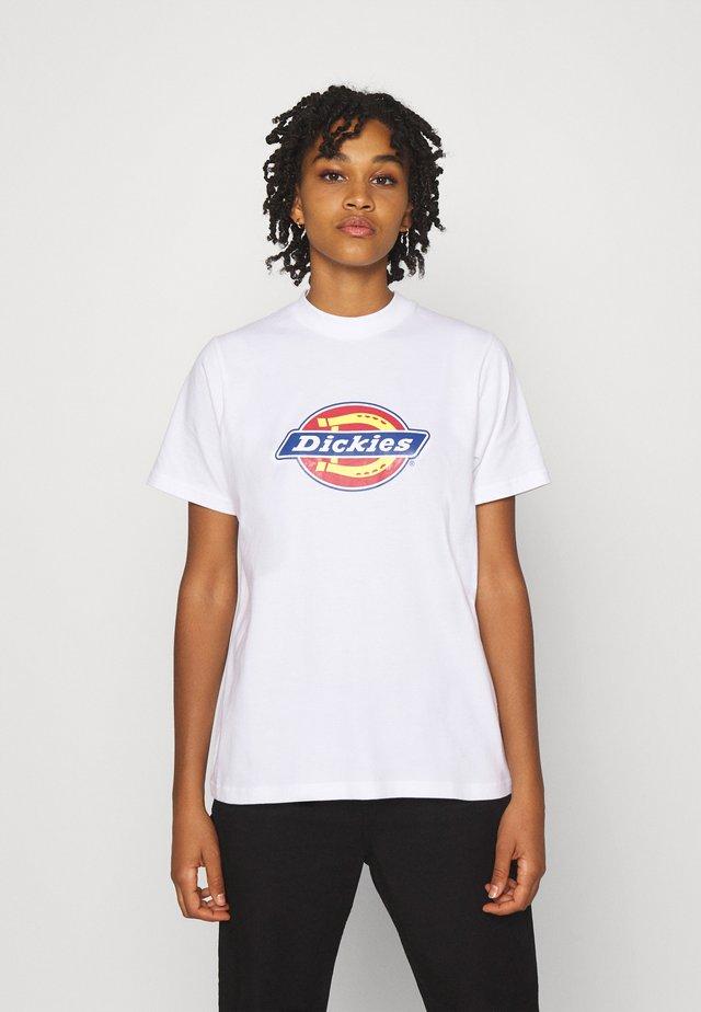 ICON LOGO TEE - T-shirt imprimé - white