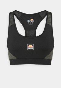 Ellesse - GRIZA - Medium support sports bra - black - 4