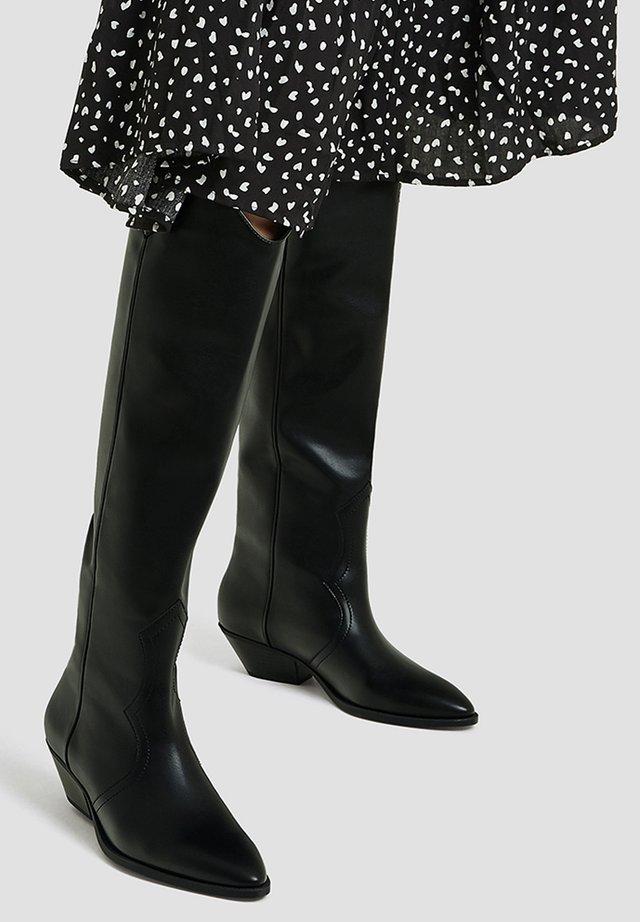 Stivali texani / biker - black