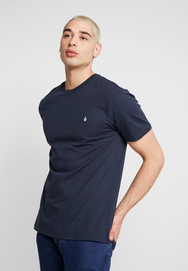 STONE BLANKS  - T-shirts basic - dark blue