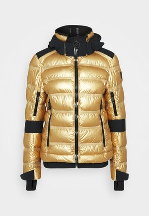 TAMI METALLIC - Ski jacket - golden glacier